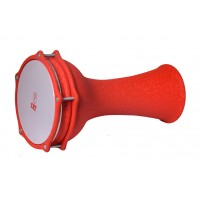 Turkish Aluminium Darbuka Crocodile Orange 18cm