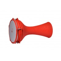 Turkish Aluminium Darbuka Crocodile Orange 20cm