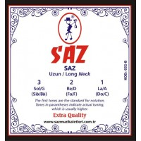 Saz String Extra Long Neck 0.20