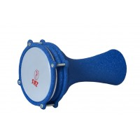 Turkish Aluminium Darbuka Crocodile Blue 13cm