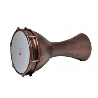 Turkish Aluminium Darbuka Beaten Copper 23.5cm